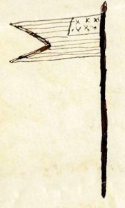 Barney's Drawing of Guidon