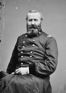 Alexander Hays, colonel of the 63rd Pennsylvania. He was killed in the Wilderness.