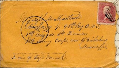 1863 Letter